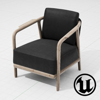3d flexform crono chair ue4