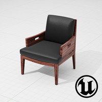 3d flexform betty chair ue4 model
