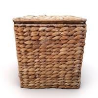 3d model bast box