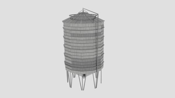 3d sharman farm silo