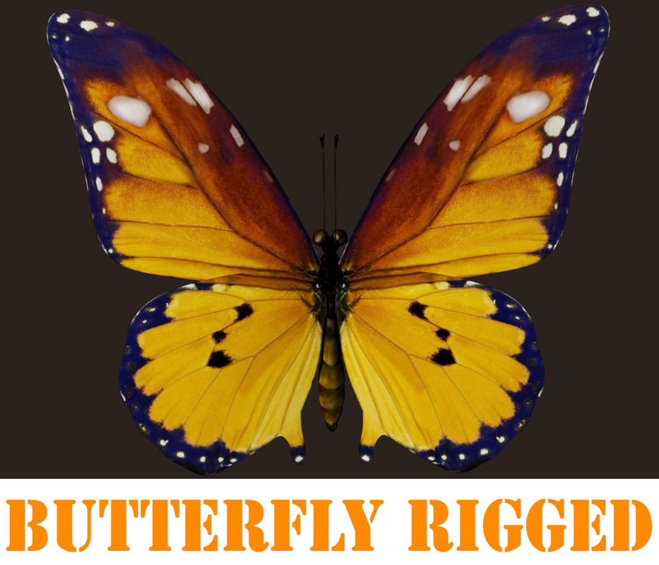 butterfly rigged ma