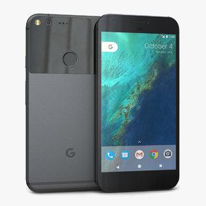 3d model google pixel xl quite