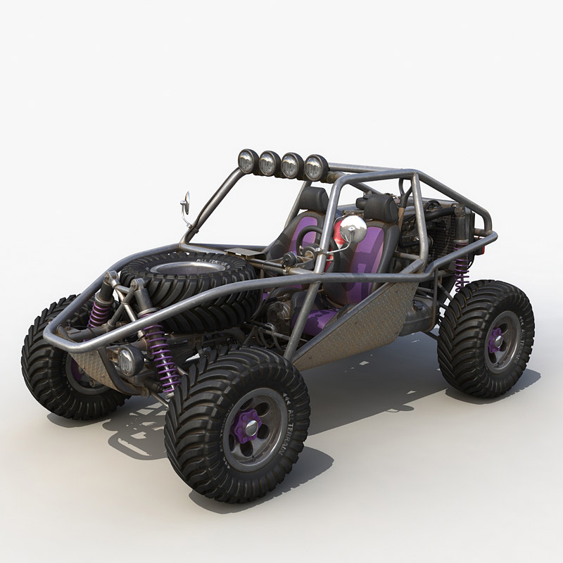 dune buggy 3d max