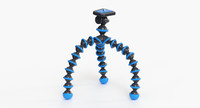 3d model of flexible camera tripod