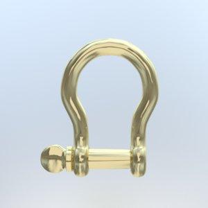 3d chain shackle