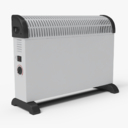 electric heater 3D models