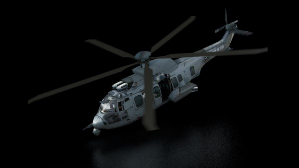 ec725 helixes 3d model