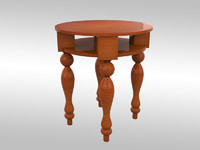 tall table 3d model