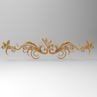 decor element stl cnc 3ds