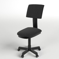 3d model office chair 3
