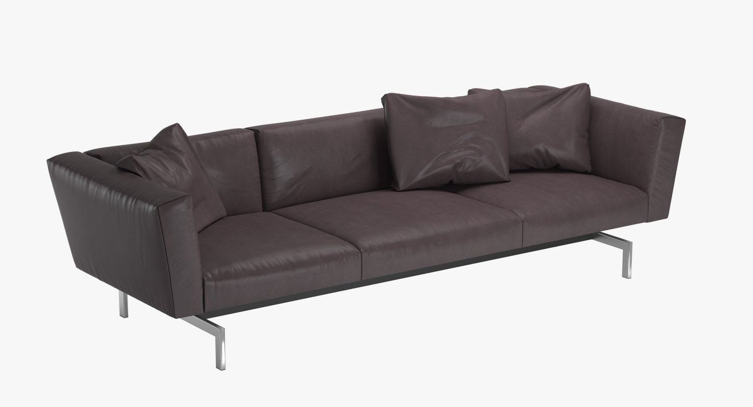 3d model sofa avio knoll