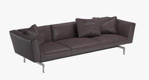 3d model sofa avio knoll
