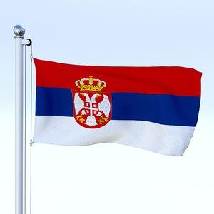 obj flag pole