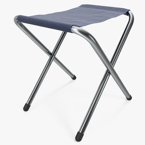 outdoor folding chair 3d 3ds