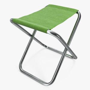 outdoor leisure folding camp obj