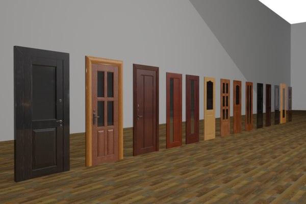 set doors 3d max