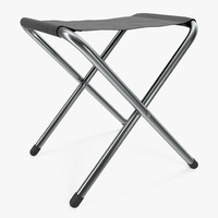 camping folding chair 2 3d max