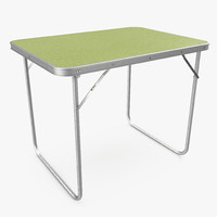 3ds camping folding table