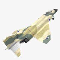 F-4E Kurnass Israeli Air Force 2 Rigged