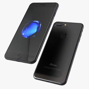 obj iphone 7 black