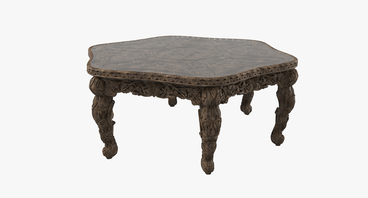 Max dining table oriental for Oriental dining table