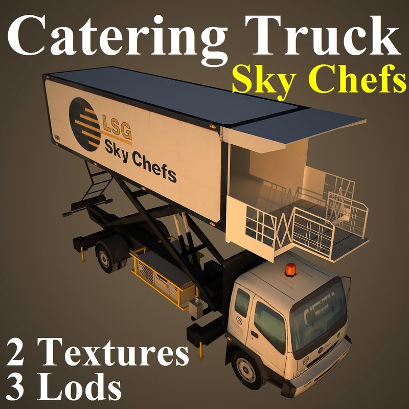 catering lsg 3d max