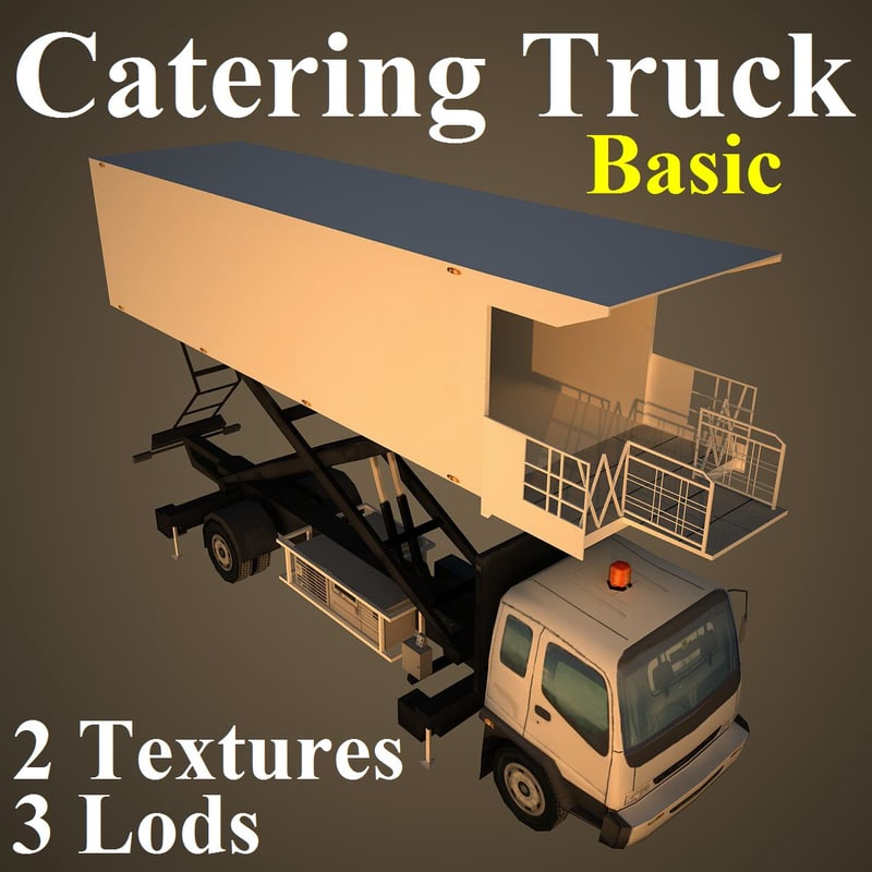 catering basic 3d max