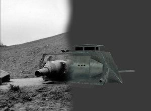 panzerstellung turret wwii 3d model