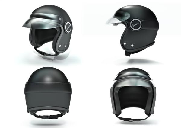 helmet vespa safety hard hat 3d blend