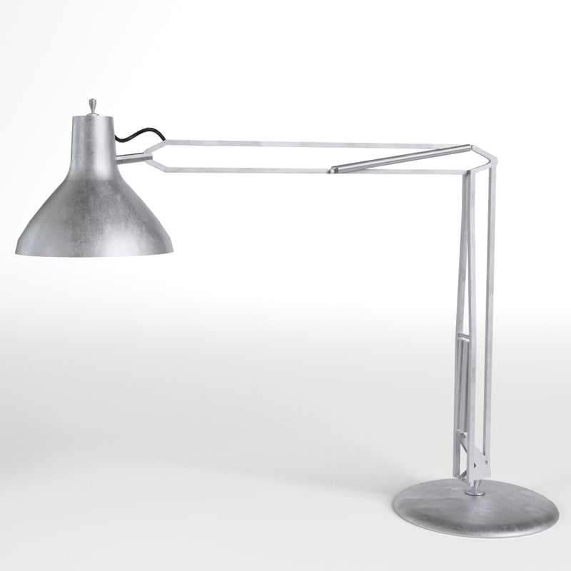 3d model desk lamp 1