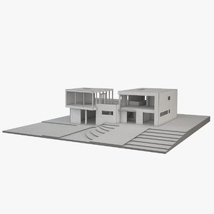 3d max architecture physical modeled
