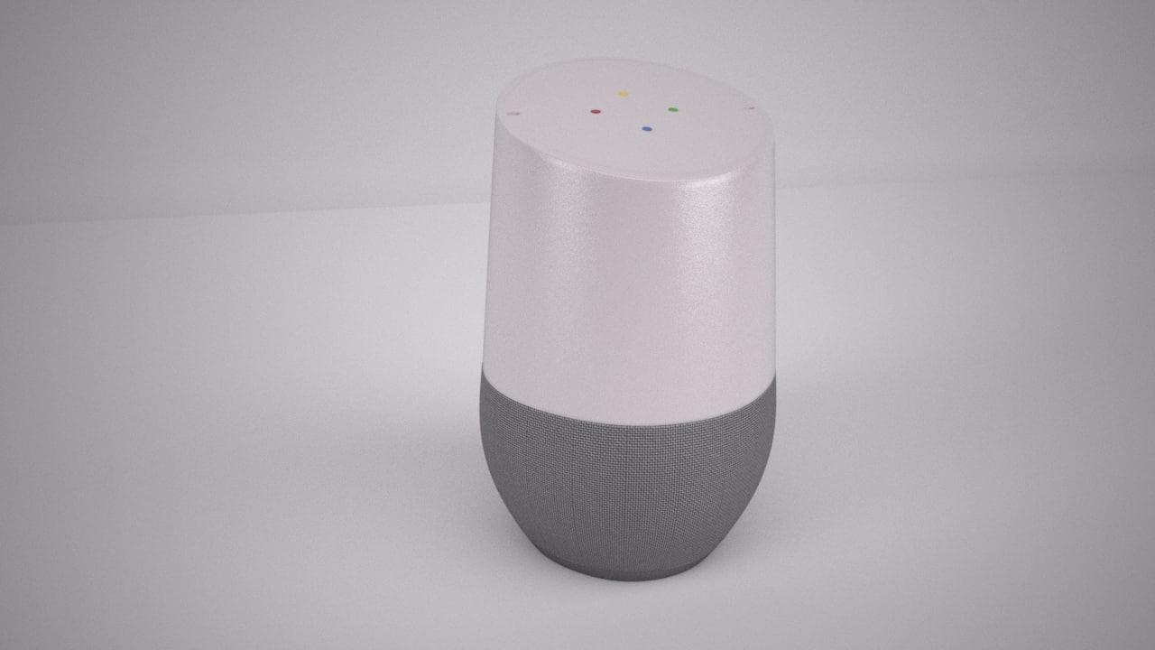 3d google home model