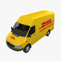mercedes sprinter dhl max