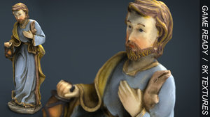 3d model saint joseph