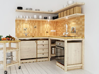 max wooden kitchen handmade