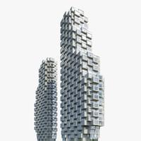 3d max norra tornen