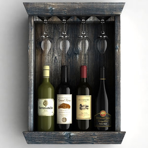 wine bottles rack max