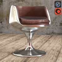 seat aviator cup chair 3d max