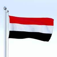 Animated Yemen Flag