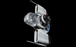 space fighter 3d fbx
