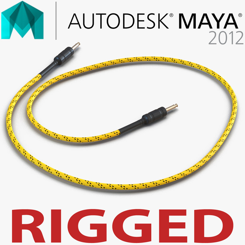 guitar cable rigged ma