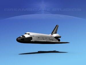 space shuttle 3d max