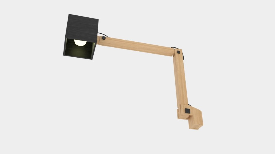 3ds table lamp contemporary oak