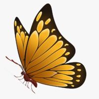max beautiful butterfly cartoon