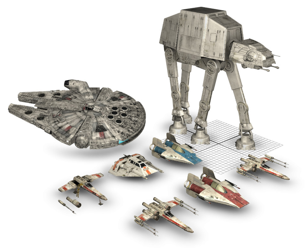 3d model star wars ultimate vehicles