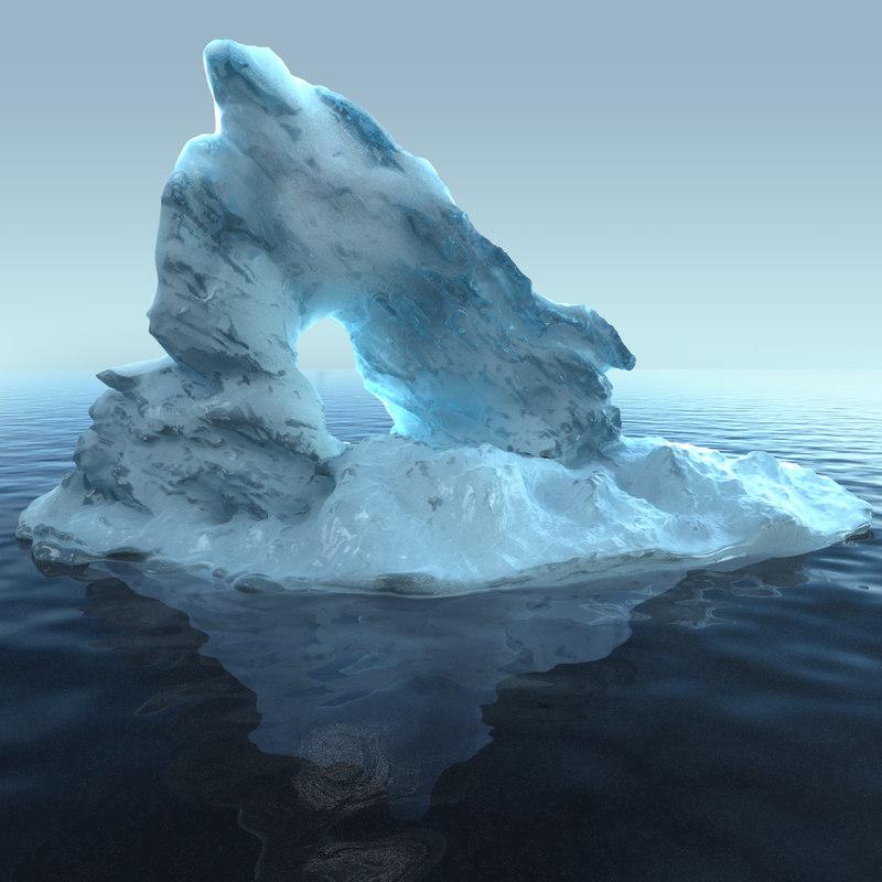 3d iceberg 1 model