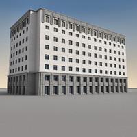 Modern Building 091