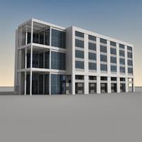 Modern Building 093