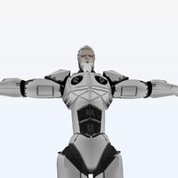 3ds robot modeled