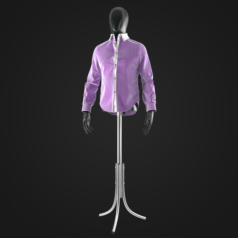 3ds shirt mannequin